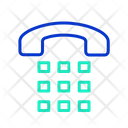 Idial Number Dial Number Keyboard Icon