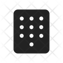 Number Password Dial Icon