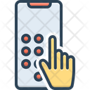 Dial Pad Contact Number Icon