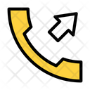 Dialing Phone Call Icon