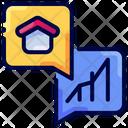 Dialog Finance Real Estate Icon