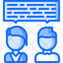 Dialog Discussion Work Icon