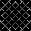 Dialpad Key Pad Dots Icon