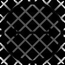 Diameter Geometry Icon