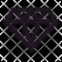Diamond Reward Money Treasure Icon