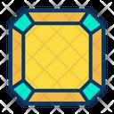 Emerald Diamond Crystal Icon