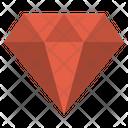 Diamond Amber Allotrope Icon