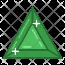 Diamond Ruby Stone Icon