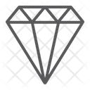 Diamond Jewel Brilliant Icon
