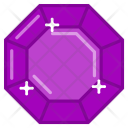 Diamond Ruby Crystal Icon