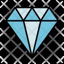 Diamond Rubby Crystal Icon