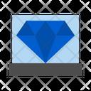 Diamond Diamond Exhibition Jewelry Exhibition Icon