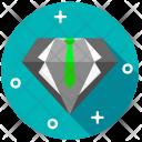 Diamond Crystal Stone Icon