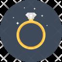 Diamond Engagement Gem Icon