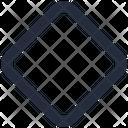 Shape Diamond Icon