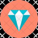 Diamond Gem Gemstone Icon