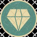 Diamond Jewel Gemstone Icon