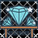 Diamond Exhibit Sparkler Icon