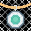 Diamond Neckless Jewelry Icon