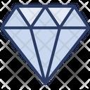Diamond Gemstone Jewelry Icon
