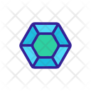 Diamonds Coral Aquatic Icon