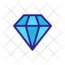 Diamonds Diamond Gemstone Icon