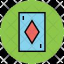 Diamond Card Poker Icon