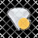 Diamond Bitcoin Crypto Icon