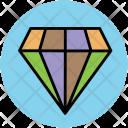 Diamond Precious Stone Icon
