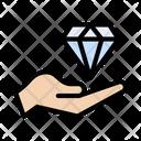 Diamond Value Quality Icon