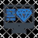 Diamond Quality Seo Icon