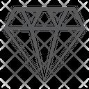 Diamond Jewel Precious Stone Icon