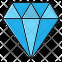 Diamond Gem Stone Icon