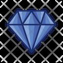 Diamond Crystal Gemstone Icon