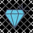Diamond Gemstone Investment Icon