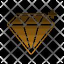 Diamond Jewelry Treasure Icon