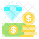 Diamond Money Finance Icon
