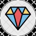 Stone Diamond Jewelry Icon