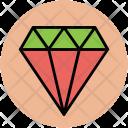 Diamond Ruby Gem Icon
