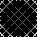 Geometry Shape Diamond Icon