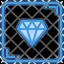 Diamond Premium Luxury Icon