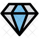 Diamond Crystal Brilliant Icon