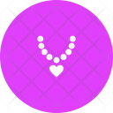Diamond Necklace Ring Icon