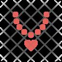 Diamond Necklace Ring Icon