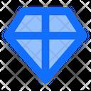 Diamond Crystal Jewelry Icon