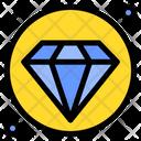 Diamond Value Wealth Icon