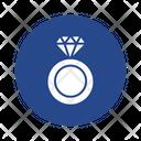 Diamond Fashion Accessory Fingering Icon
