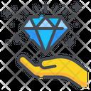 Diamond Hand Award Icon
