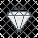 Diamond Jewel Wealth Icon