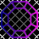 Diamond Jewel Stone Icon